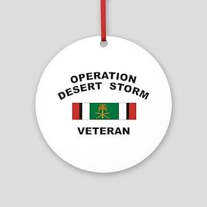 Kuwait Veteran 2 Ornament (Round)