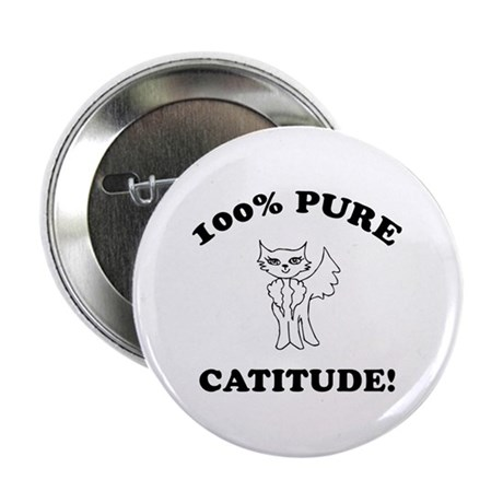 "Cat Humor Gifts 2.25"" Button (10 pack)"