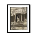 Jeanette Rankin Framed Panel Print