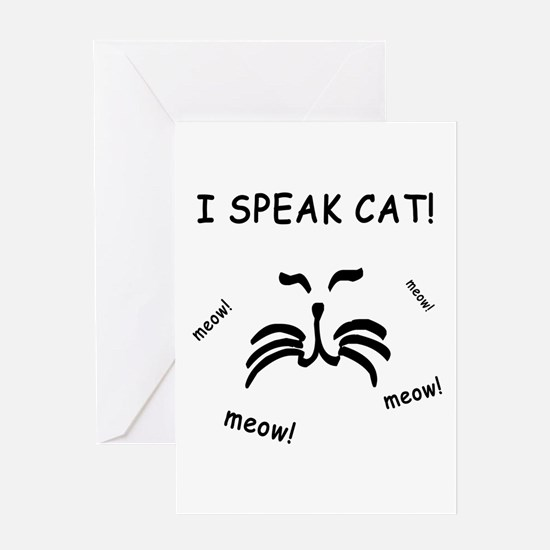 Funny Cat Lover Greeting Card