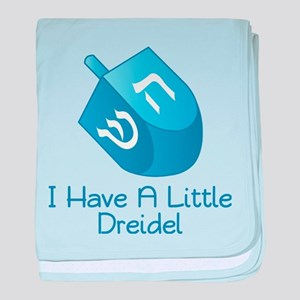 I Have A Little Dreidel baby blanket