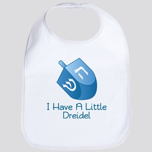 I Have A Little Dreidel Baby Bib