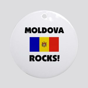 Moldova Rocks Ornament (Round)