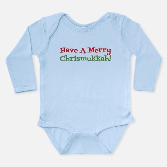 Have A Merry Chrismukkah Body Suit