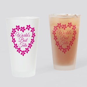 World's Best Tutu Drinking Glass