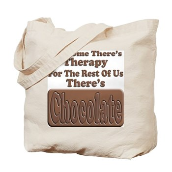 Chocolate Therapy Tote Bag