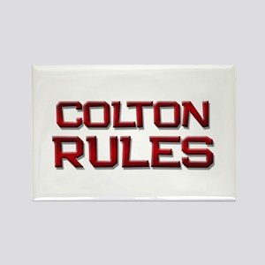 colton rules Rectangle Magnet