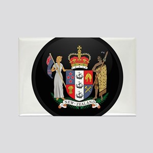 Coat of Arms of New Zealand Rectangle Magnet