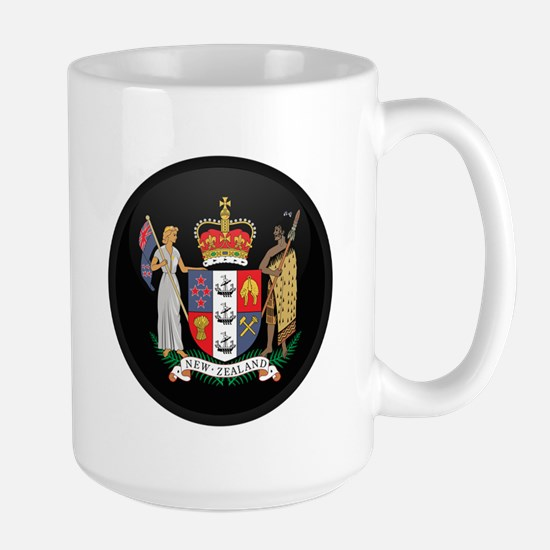 Coat of Arms of New Zealand Large Mug