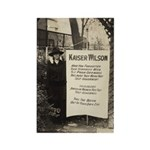 Kaiser Wilson - Votes for Women Rectangle Magnet