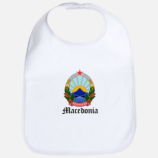 Macedonian Coat of Arms Seal Bib
