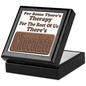 Chocolate Therapy Keepsake Box