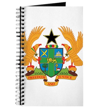 ghana Coat of Arms Journal
