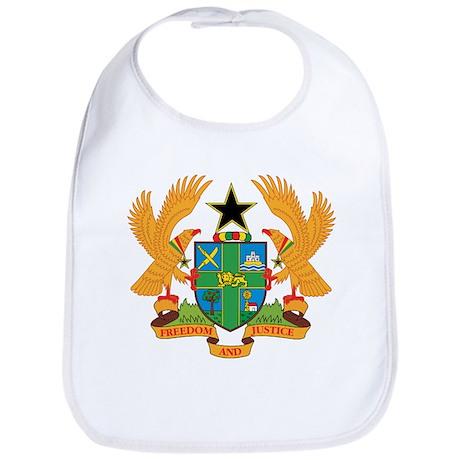 ghana Coat of Arms Bib