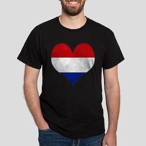 I Love NETHERLANDS Dark T-Shirt
