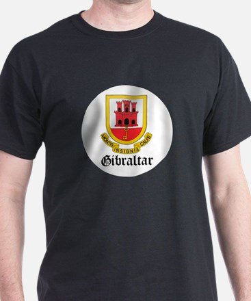 Gibraltarian Coat of Arms Sea T-Shirt