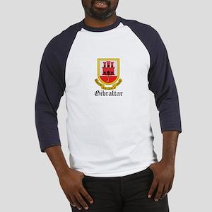 Gibraltarian Coat of Arms Sea Baseball Jersey