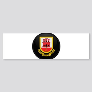Coat of Arms of Gibraltar Bumper Sticker