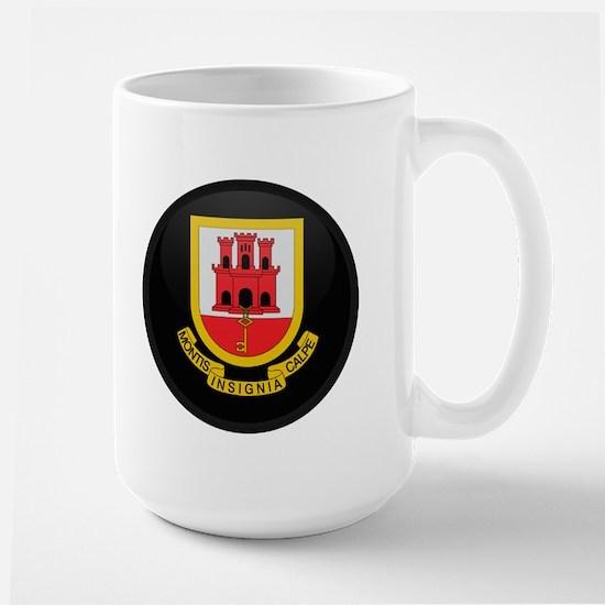 Coat of Arms of Gibraltar Large Mug