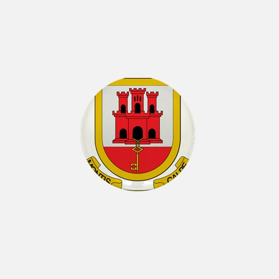 Gibraltar Coat of Arms Mini Button