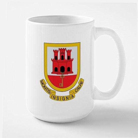 Gibraltar Coat of Arms Large Mug
