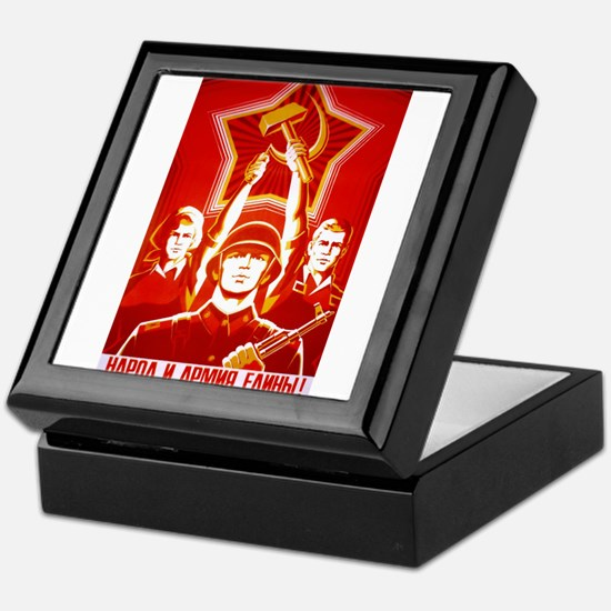 Cute Commie Keepsake Box
