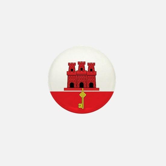 Gibraltarian Mini Button