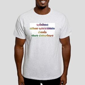 Pastel PREVENT NOISE POLLUTION Ash Grey T-Shirt