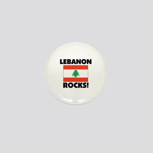 Lebanon Rocks Mini Button