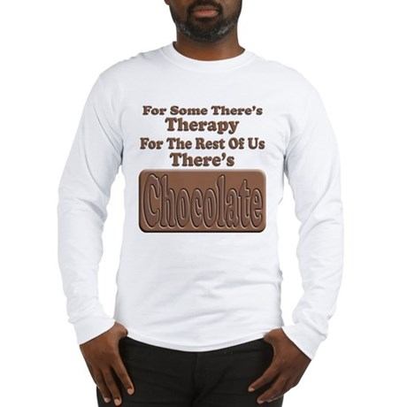 Chocolate Therapy Long Sleeve T-Shirt