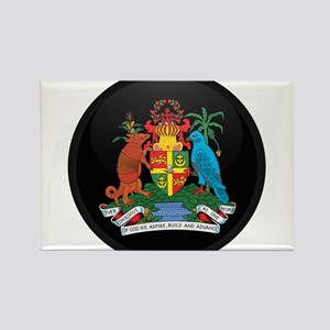 Coat of Arms of grenada Rectangle Magnet
