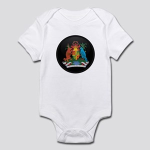 Coat of Arms of grenada Infant Bodysuit