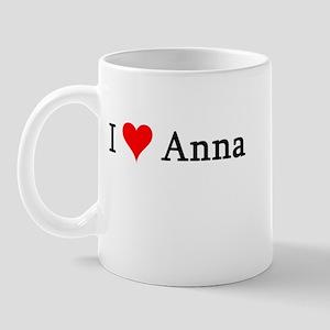 I Love Anna Mug