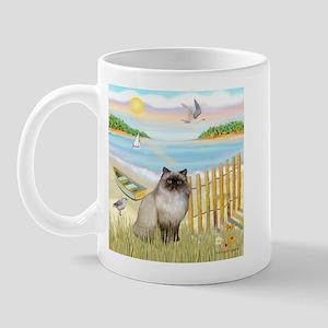 Rowboat / Himalayan Cat Mug
