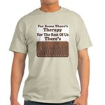 Chocolate Therapy Ash Grey T-Shirt