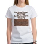 Chocolate Therapy Women's T-Shirt