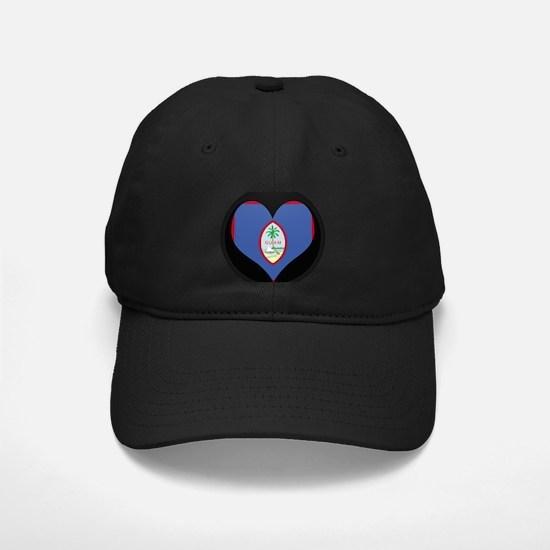 I love GUAM Flag Baseball Hat