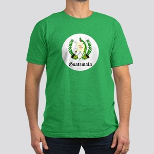 Guatemalan Coat of Arms Seal Men's Fitted T-Shirt