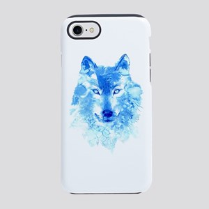 Watercolor Winter Wolf iPhone 7 Tough Case