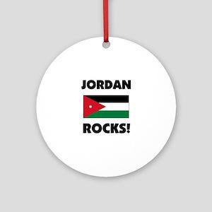 Jordan Rocks Ornament (Round)