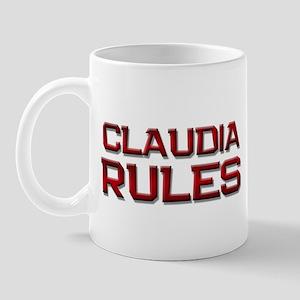 claudia rules Mug
