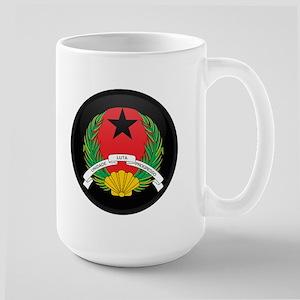 Coat of Arms of GUINEA BISSA Large Mug