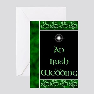 An Irish Wedding Greeting Card