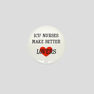 ICU Nurse Mini Button