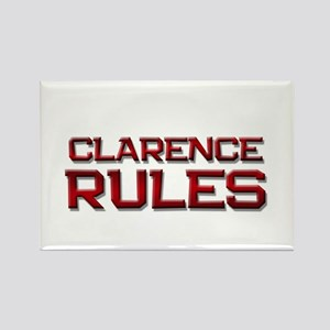 clarence rules Rectangle Magnet