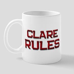 clare rules Mug