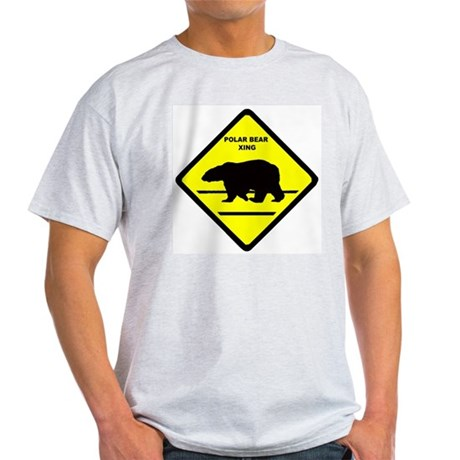 Polar Bear Xing Light T-Shirt