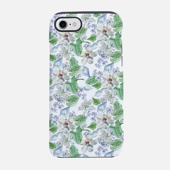 Watercolor Flower Pattern iPhone 7 Tough Case