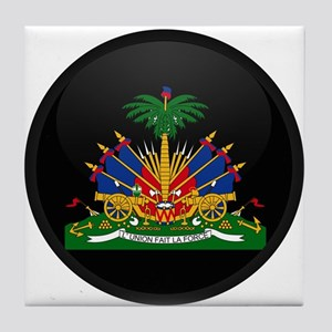 Coat of Arms of Haiti Tile Coaster