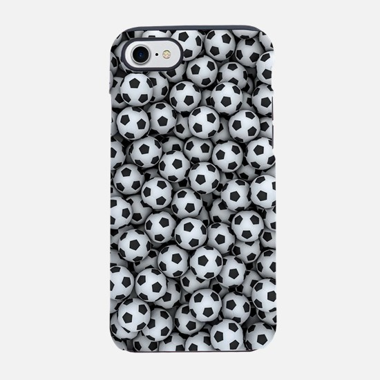 Soccer Balls iPhone 7 Tough Case